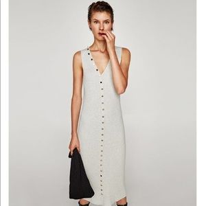 Zara Ribbed Fine Knit Dress *Only wore once